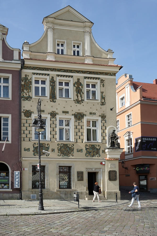 POZAN, POLAND/EUROPE - 16 DE SETEMBRO: Museu de Henryka Sienkiew fotos de stock royalty free