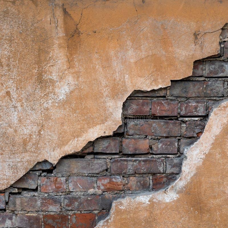 pozatym stara mur crunch E obraz royalty free