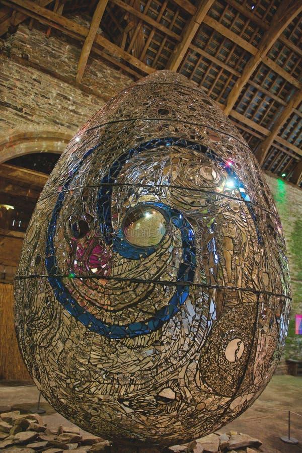 Pozaziemski Jajeczny symbol pokój obrazy royalty free