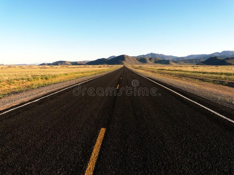 poziomy pusty drogowy zdjęcie stock