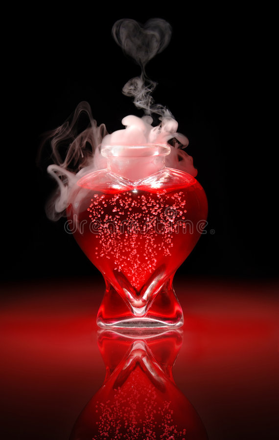 Pozione #9 di amore immagine stock