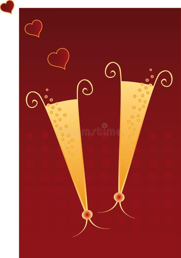 Pozione di amore illustrazione vettoriale