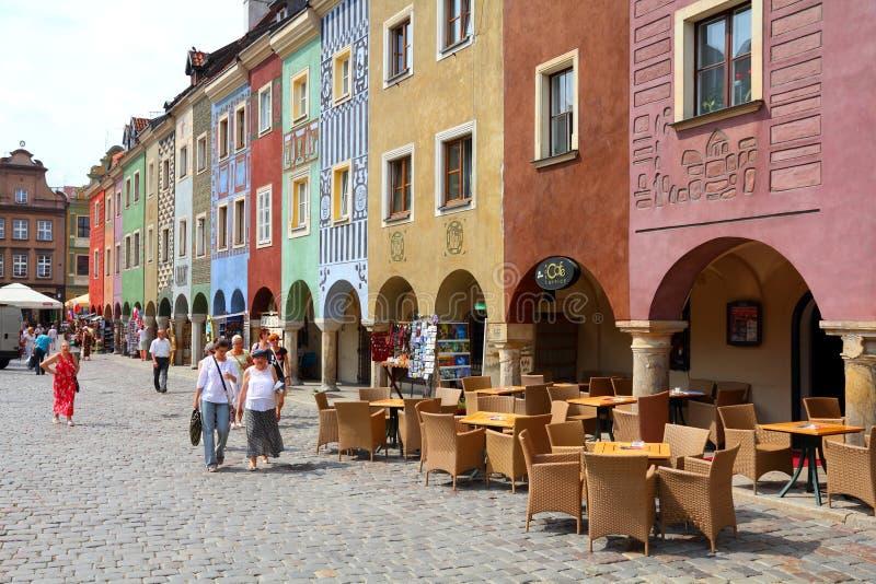 Poznan - la Polonia fotografia stock