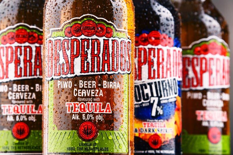 Download Three Bottles Of Desperados Beer Editorial Stock Photo