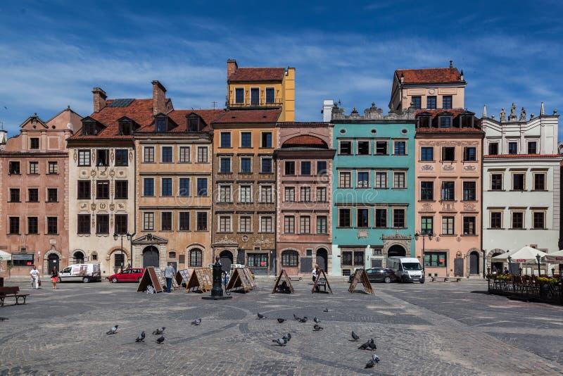 Poznan Polen stock foto's