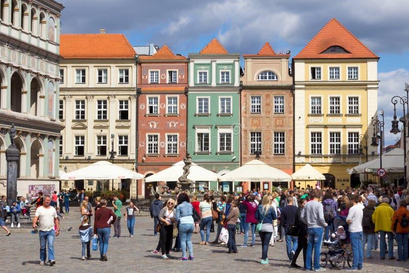Poznan, Polen royalty-vrije stock foto's