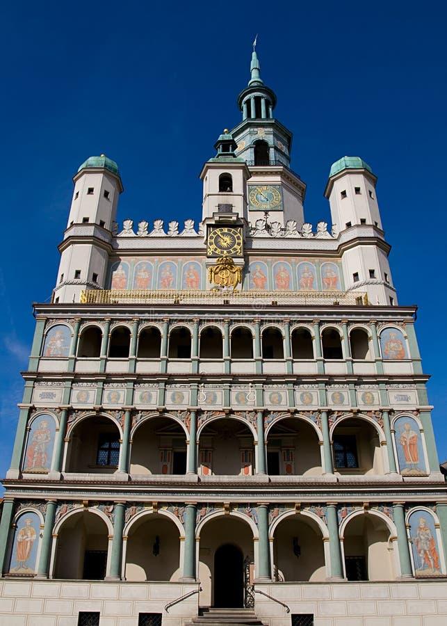 Poznan TOWN HALL royalty free stock photos