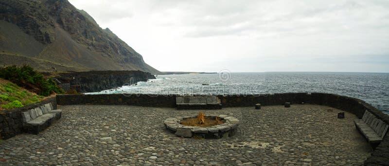 Pozo de la Salud, isla del EL Hierro, España imagen de archivo libre de regalías