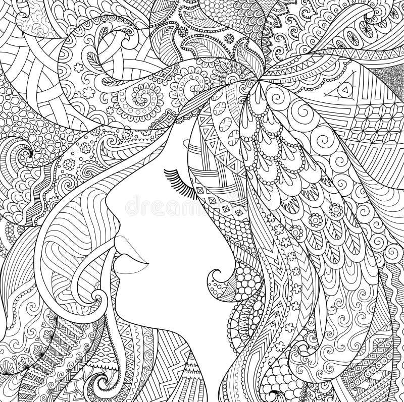 Pozo del sueño ilustración del vector