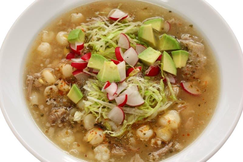 Pozole, cuisine mexicaine photo libre de droits
