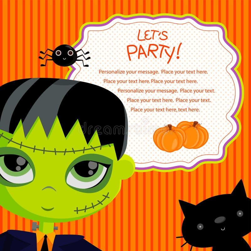 Pozwalać my party_frankie ilustracja wektor