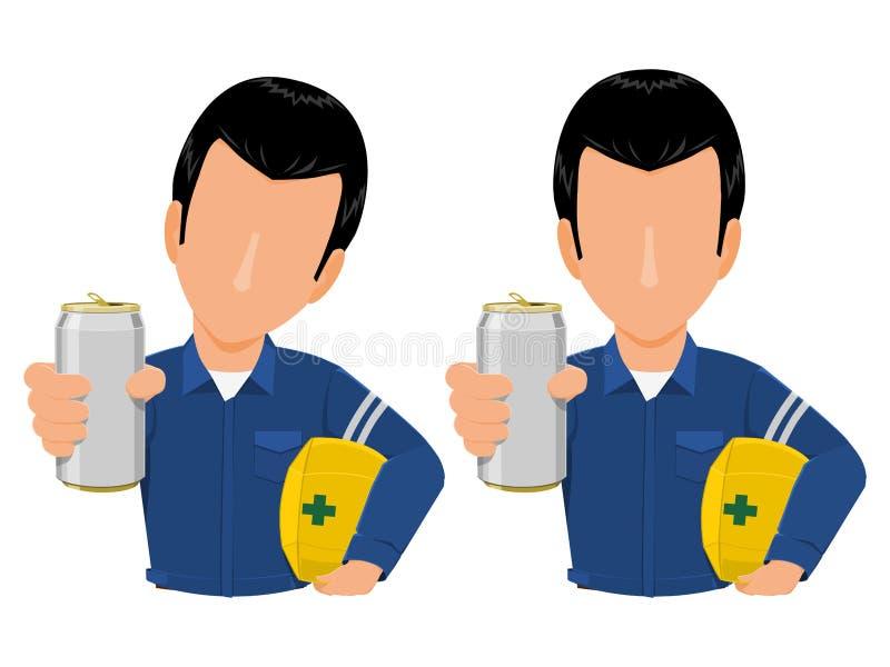 Pozwalać ty pić ilustracji