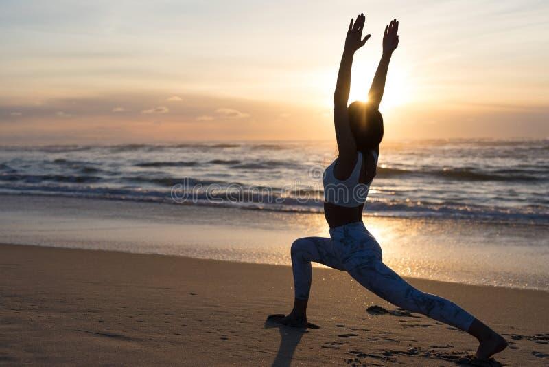 Pozwala ` s robić niektóre joga! zdjęcia royalty free