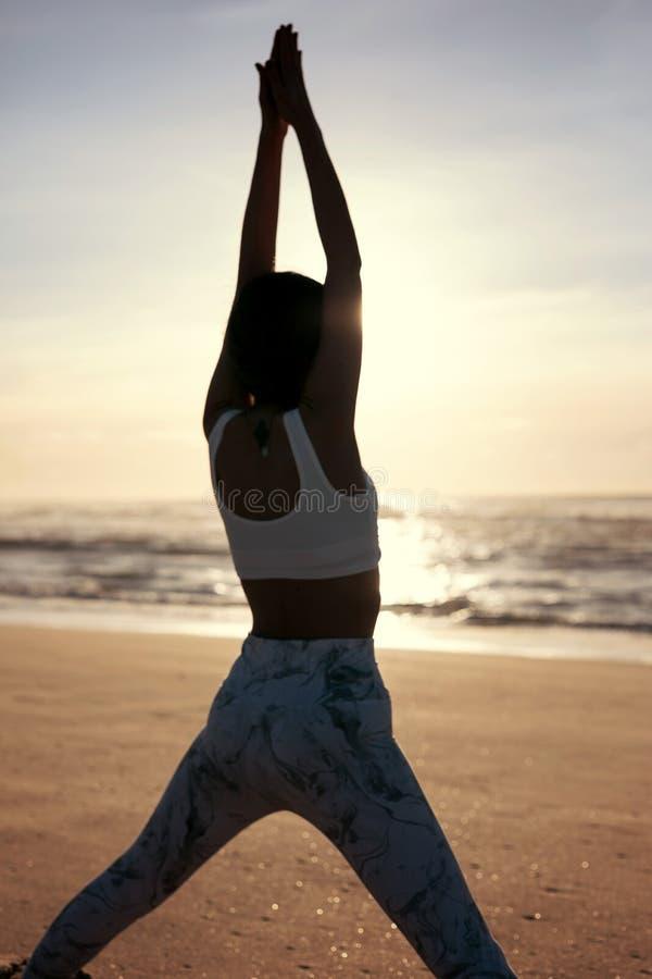 Pozwala ` s robić niektóre joga! obraz royalty free