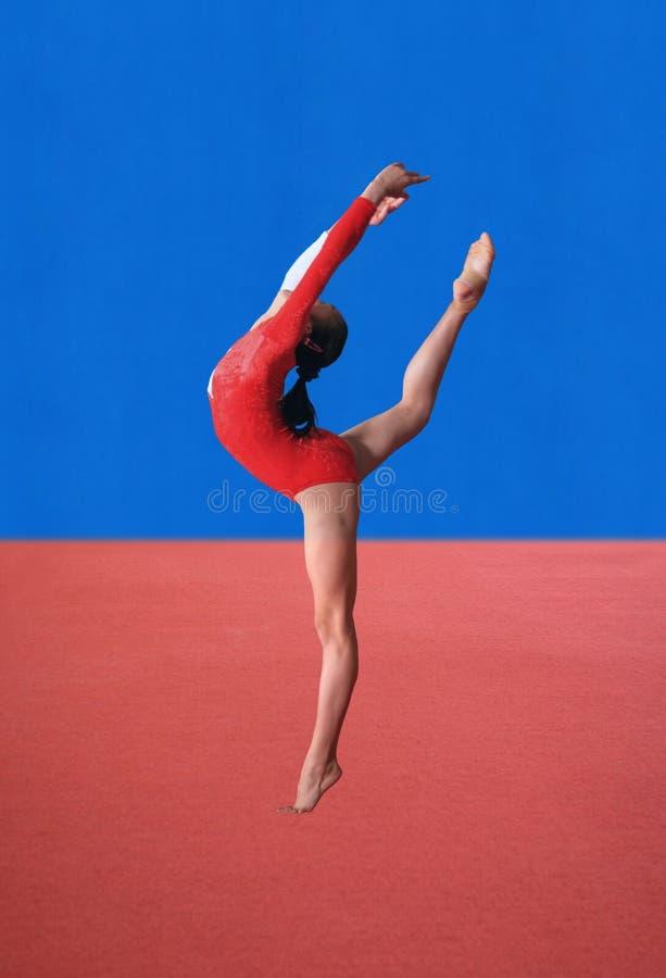 pozy gimnastyk zdjęcie royalty free