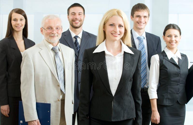 pozyci biznesowa drużyna fotografia stock