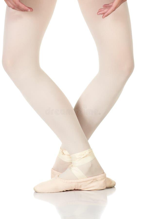 pozycja baletniczy cieki fotografia stock