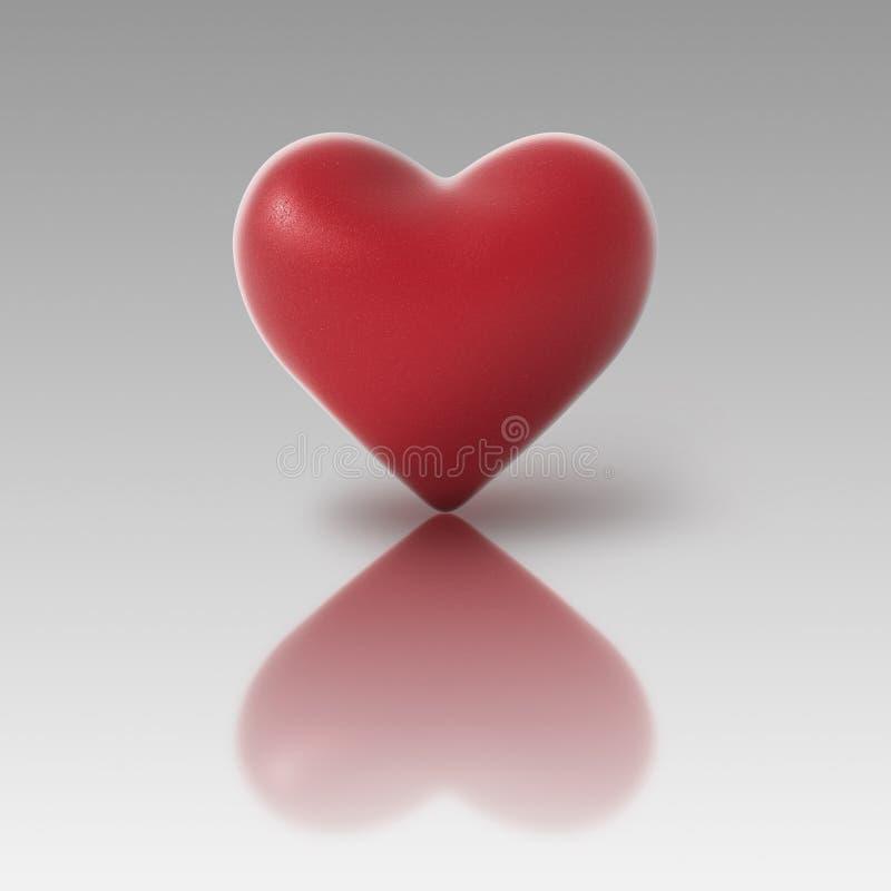 pozycja serca obrazy stock
