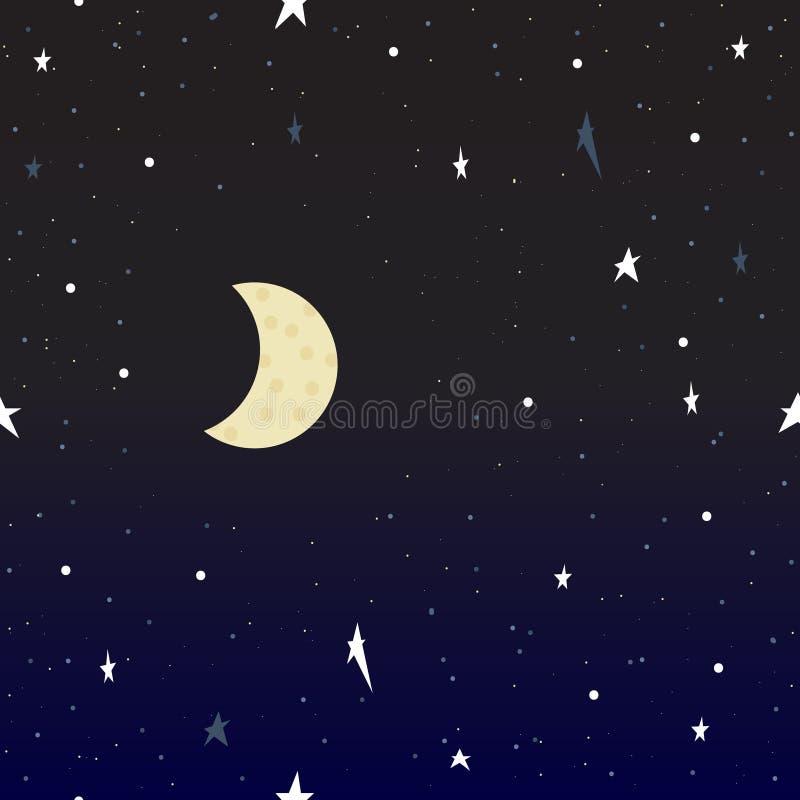 pozyskiwania ilustracyjny błyskawica nocne niebo Niebo wektor ilustracja wektor