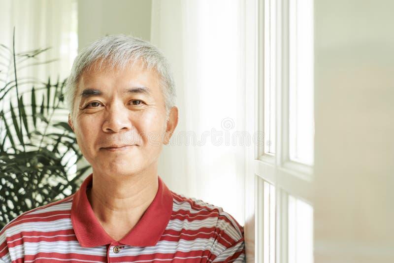 Pozytywny Azjatycki m??czyzna obrazy royalty free