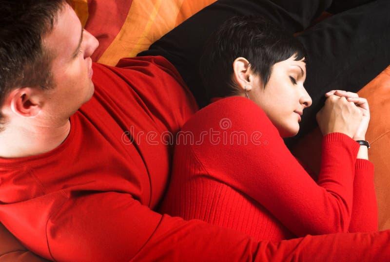 Pozzo di sonno il mio caro! fotografie stock libere da diritti