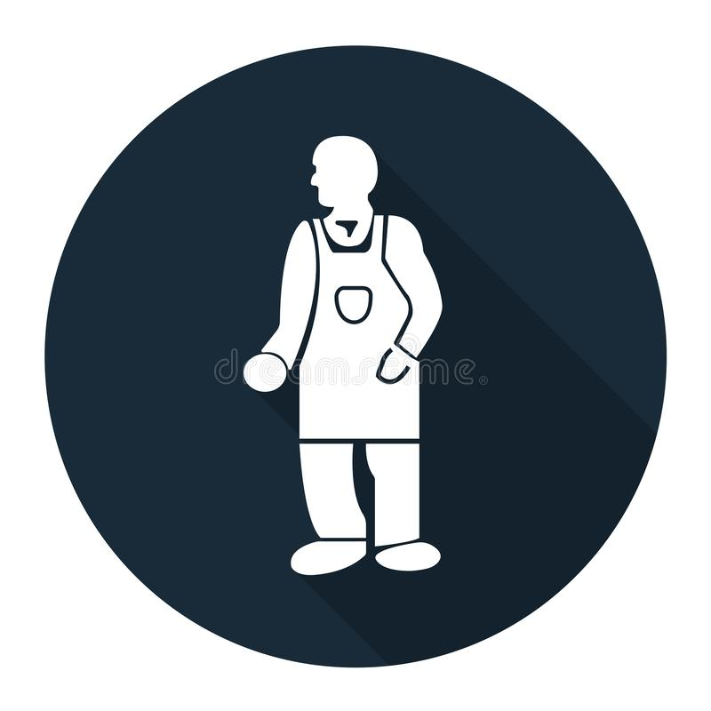 PPE Icon.Wear Protective Clothing Symbol Isolate On White Background,Vector Illustration EPS.10 royalty free illustration