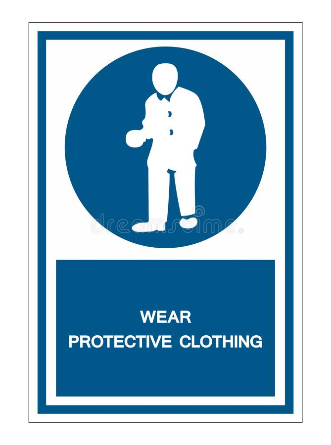 PPE Icon.Wear Protective Clothing Symbol Sign Isolate On White Background,Vector Illustration EPS.10. Safety, protection, isolated, equipment, industry, work vector illustration