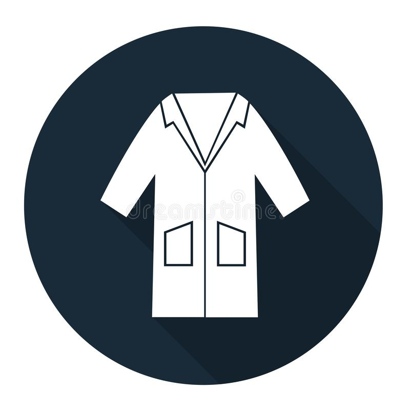 PPE Icon.Wear Smock Symbol Sign Isolate On White Background,Vector Illustration EPS.10 royalty free illustration