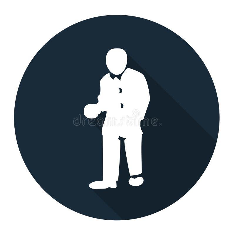 Ppe-symbol Isolat för tecken för kläderskyddsklädersymbol på vit bakgrund, vektorillustration EPS 10 vektor illustrationer