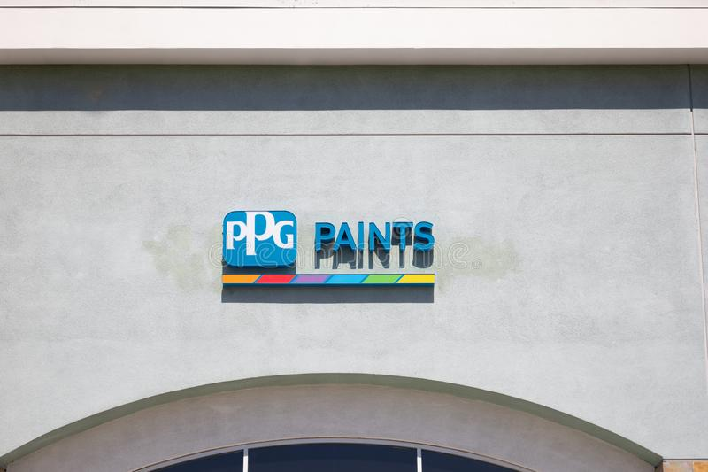 Ppg Paints Store Front Editorial Image Image Of