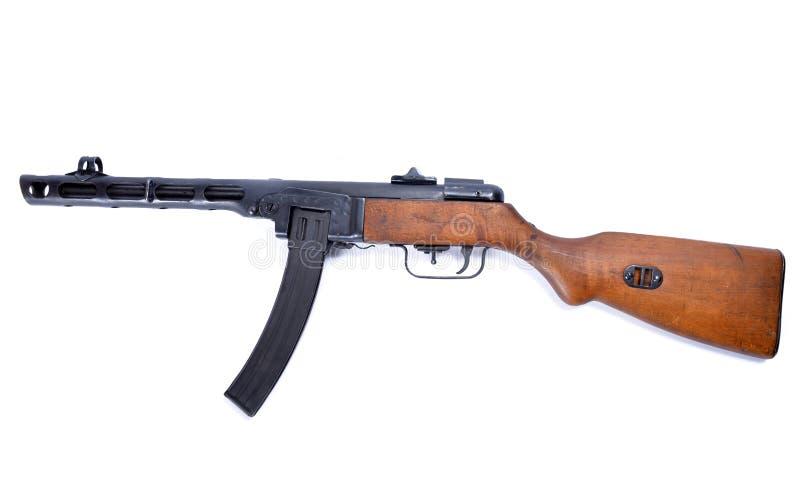 Ppsh 41 da metralhadora fotos de stock