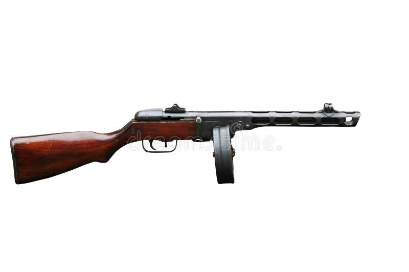 PPShmachinepistool Shpagin stock afbeelding