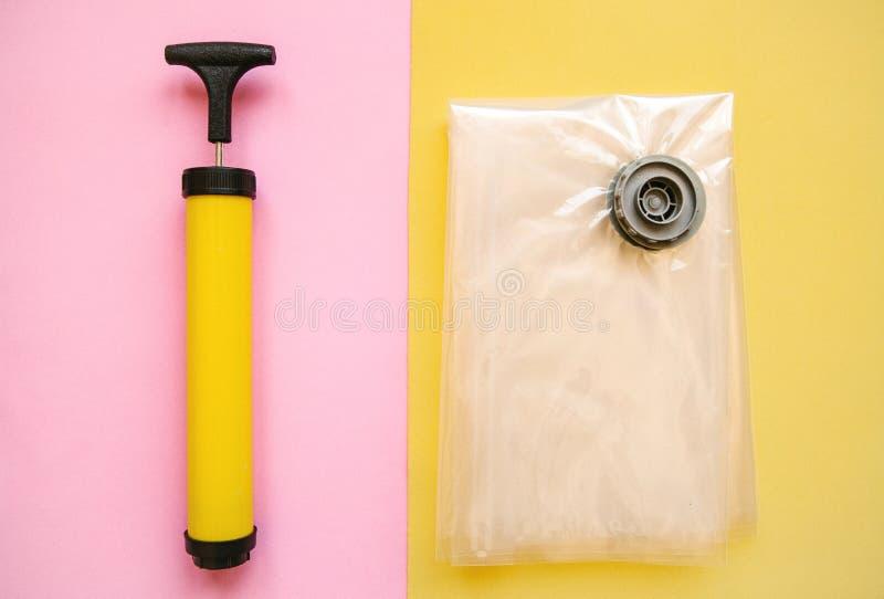 Próżniowa pompa dla próżniowych toreb obrazy royalty free