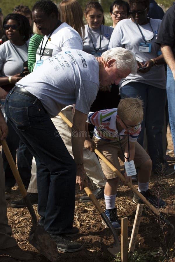 Präsident Bill Clinton Vereinigter Staaten stockfotografie