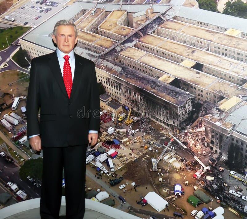 Präsident George W. Bush stockfoto
