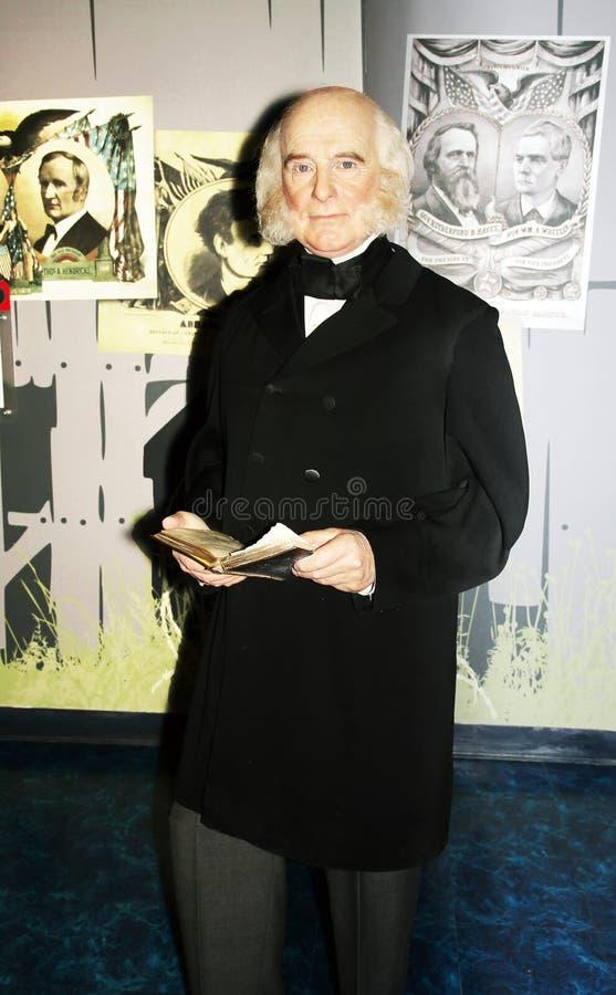 Präsident Martin Van Buren stockfotos