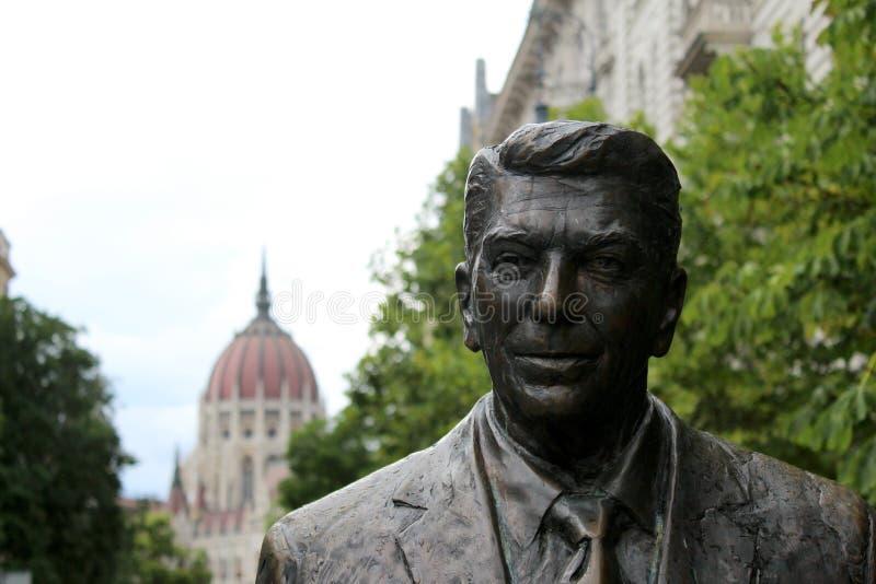 Präsident Reagan stockbild