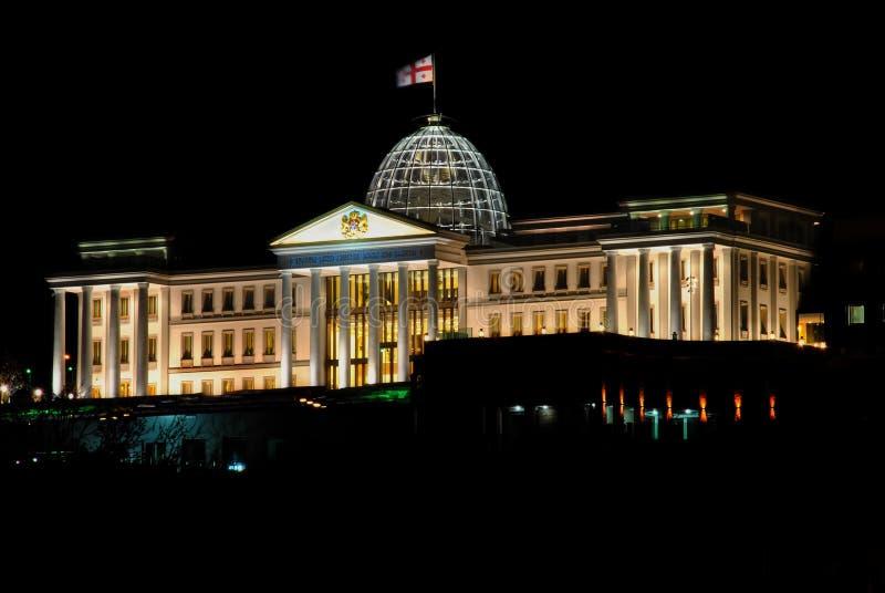 Präsidentenpalast von Georgia lizenzfreie stockbilder
