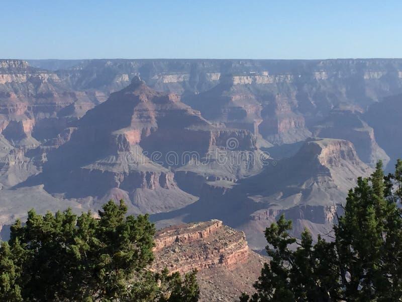 Präsidentenreihen-Ansicht Grand Canyon s stockbilder