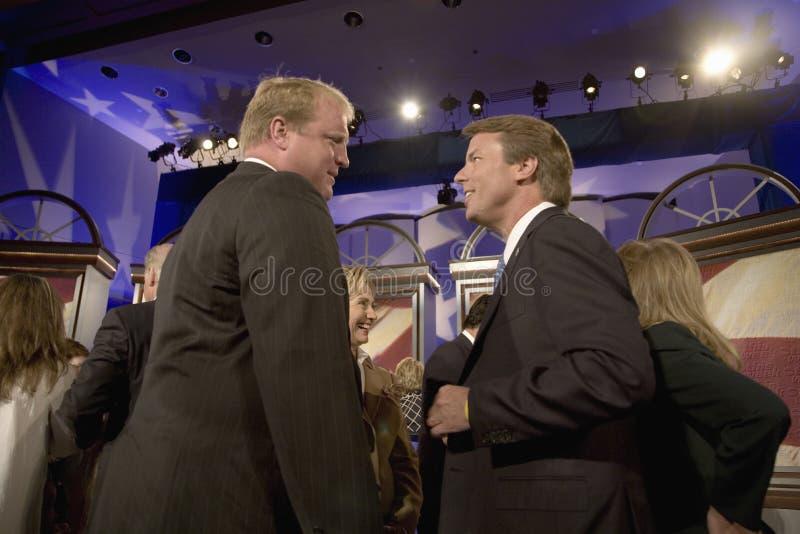 Präsidentschaftsanwärter John Edwards stockfotos