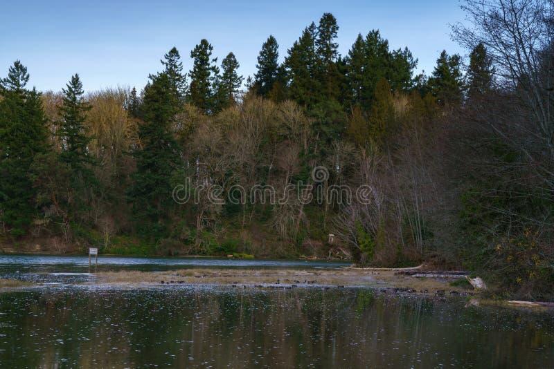 Präst Point Park royaltyfria foton