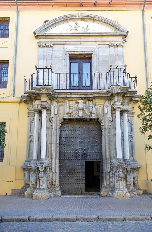 Prästerligt hus Cordoba, Spanien royaltyfria foton