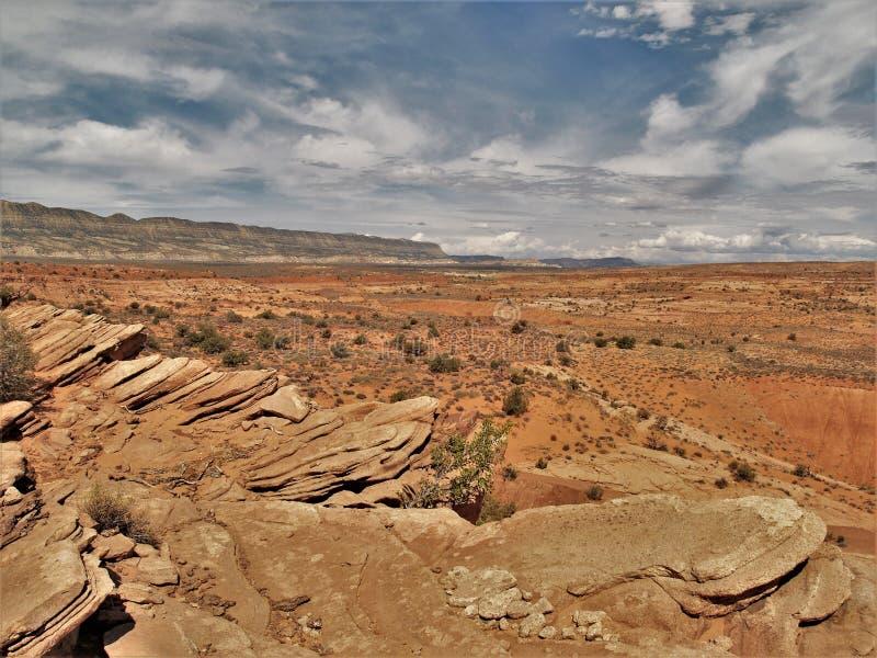 Près du dessus du peigne Ridge images libres de droits