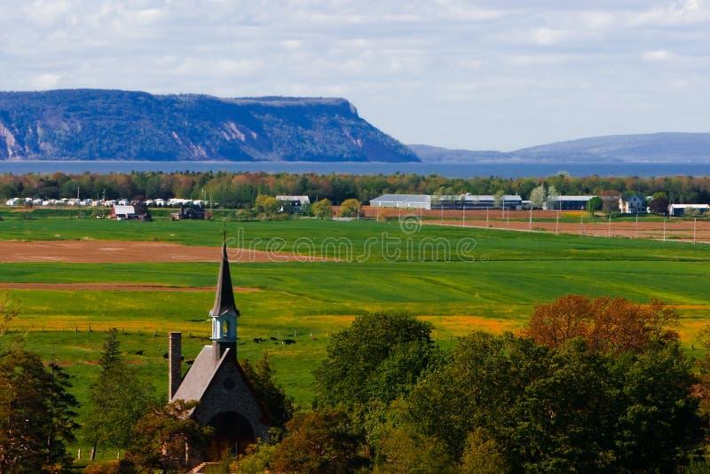 Pré Blomidon grand la Nouvelle-Écosse images stock