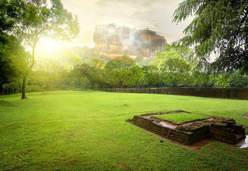 Pré près de Sigiriya image stock