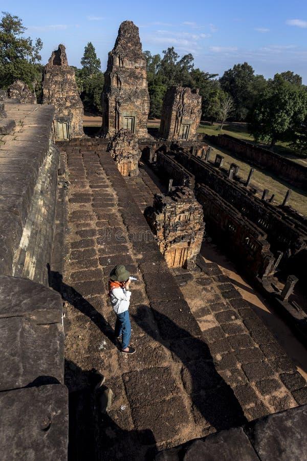 Pré Rup Angkor Wat Siem Reap Cambodia South l'Asie de l'Est est un temple hindou chez Angkor, Cambodge photos libres de droits