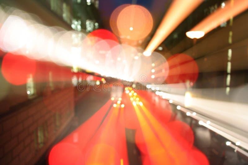 Précipitation de lumière de Londres image stock