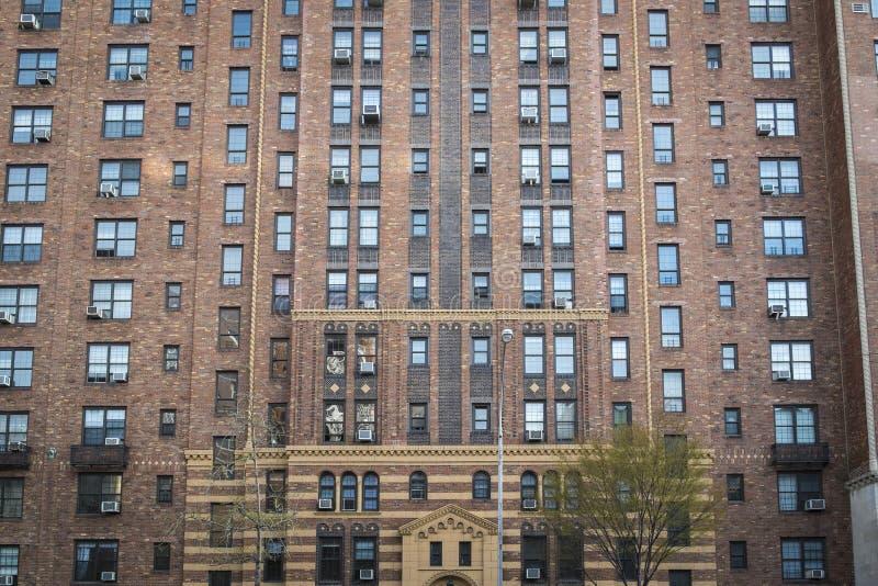 Prédio de apartamentos, Manhattan, New York City fotos de stock
