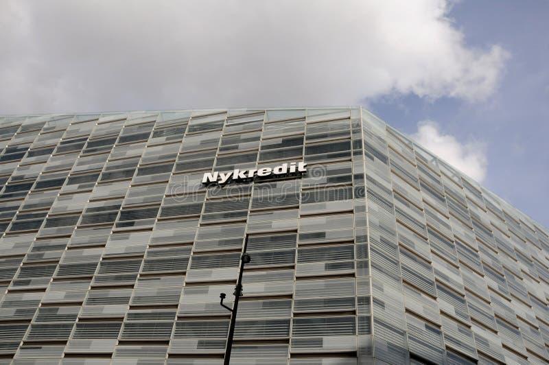 Prédio de escritórios da cabeça do banco de Nykredit copenhaga foto de stock royalty free