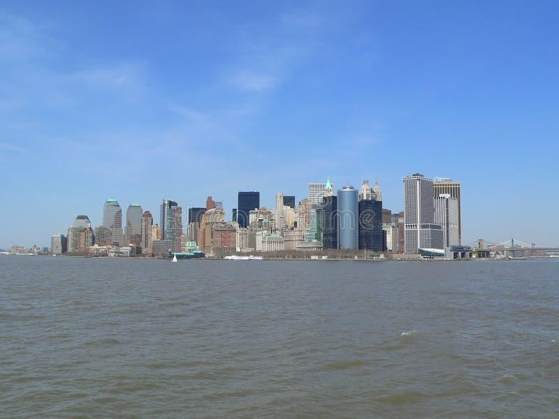 Download Prédio De Escritórios, Edifício De Apartamento, Arranha-céus, Suficiência Skyline De Manhattan, New York City Imagem de Stock - Imagem de raspador, paisagem: 112355